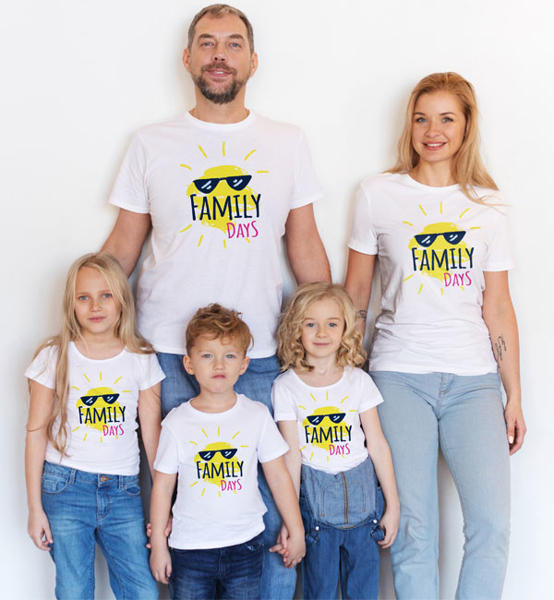 Picture of Комплект семейни тениски Sunny Days