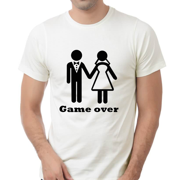 "Picture of Мъжка тениска ""Game over"""