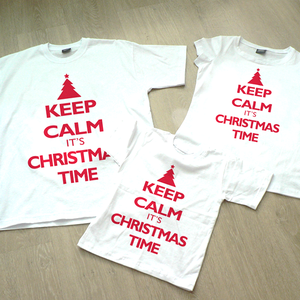 "Picture of Семейни Тениски ""Keep Calm it""s Christmas Time"""