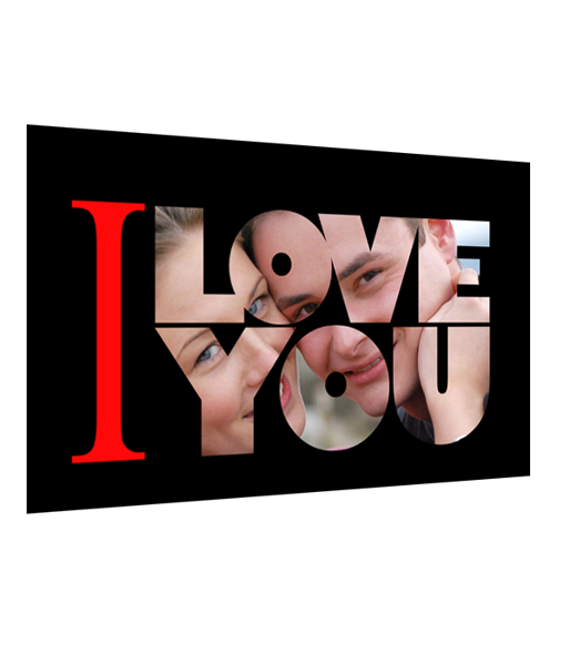 """Picture of Фотоколаж """"I LOVE YOU"""""""