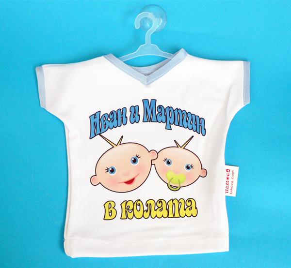 """Picture of Мини тениска """"Тандем"""""""