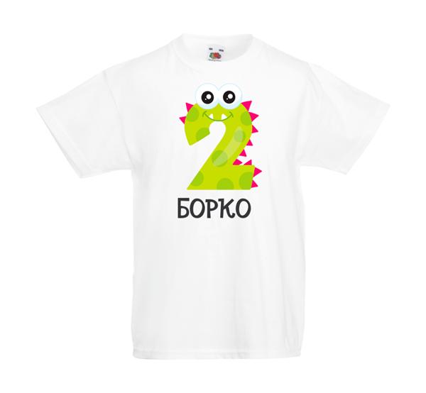 Picture of Детска тениска с цифра