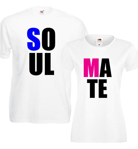 "Picture of Тениски за двойки ""Soulmate"""
