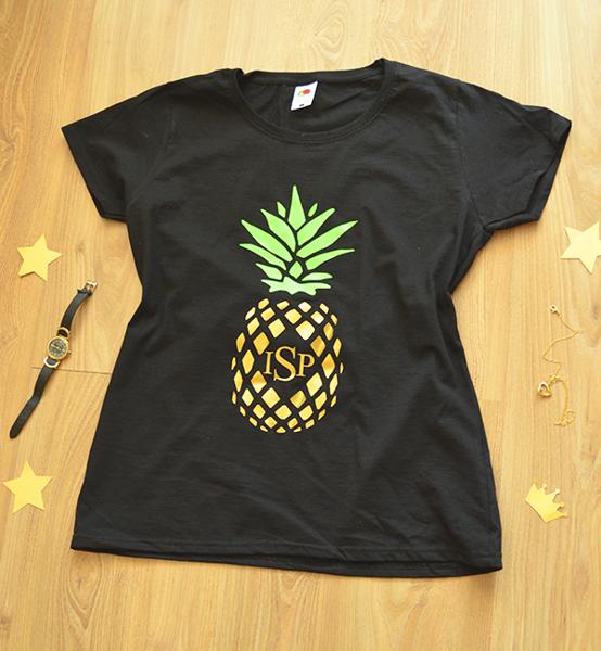 "Picture of Дамска тениска ""Pineapple"""