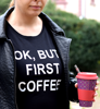 "Picture of Тениска ""First coffee"""
