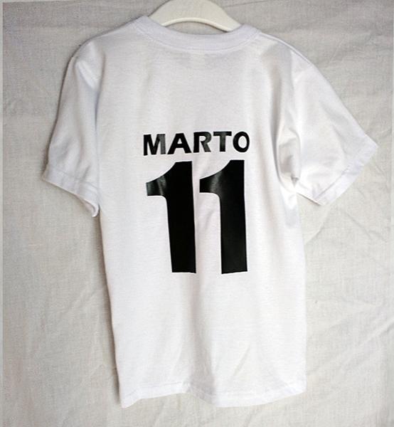 Picture of Детска тениска или  боди с име и номер на гърба