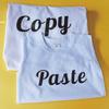 """Picture of Комплект мама и бебе """"Copy - paste"""""""