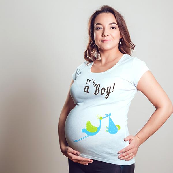 """Picture of Тениска за бременни """"It's a boy"""""""