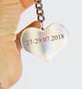 Picture of Ключодържател сърце с надпис по поръчка Heart