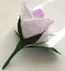 Picture of Ръчно изработена  лилава бутониера