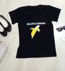 """Picture of Дамска  черна тениска """"Долче  и  Банана"""""""