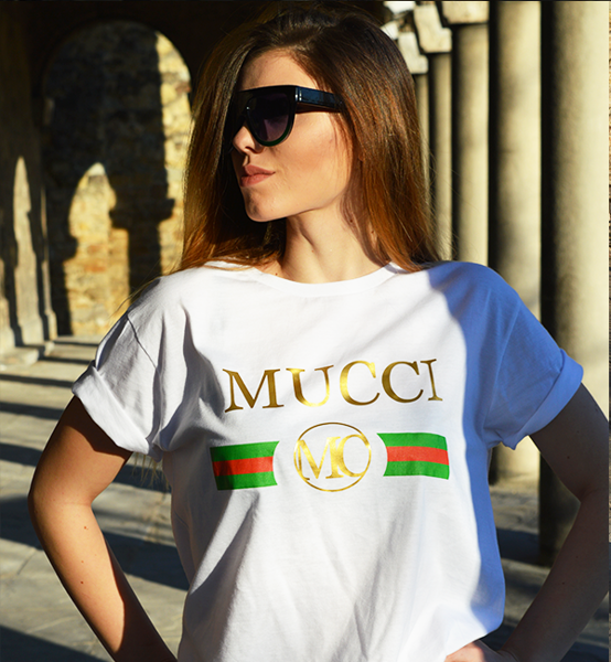 """Picture of Дамска тениска """"Муци"""""""