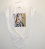 Picture of Дамска тениска с авторски принт Denim love