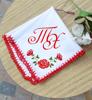 Picture of Хороводна сватбена кърпичка с инициали