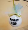 Picture of Персонализирана коледна топка за eлха еднорог
