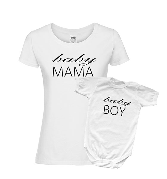 """Picture of Комплект мама и бебе """"Mama-baby"""""""