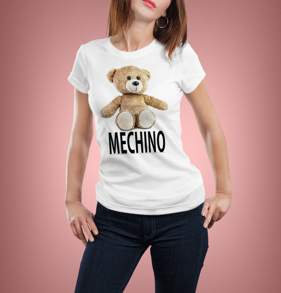 "Picture of Дамска тениска ""Мечино"""