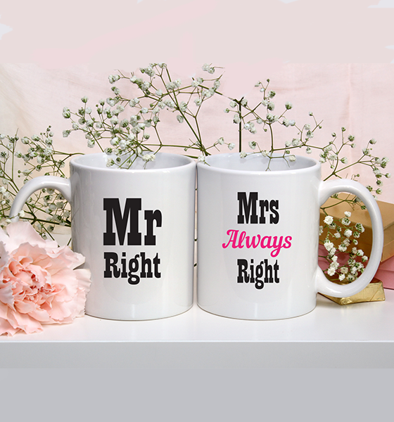 """Picture of Чаши """"Mr and Mrs Right"""""""