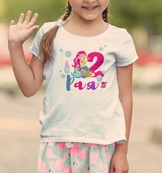 Picture of Детска тениска Русалка