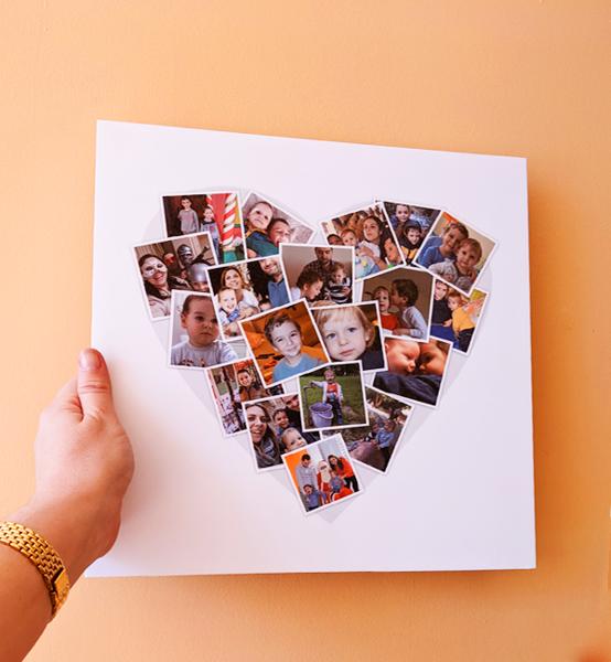 """Picture of Мега фото колаж с любими снимки """"Big Heart"""""""