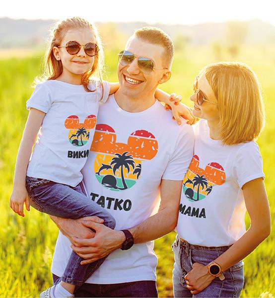 "Picture of Семейни тениски "" Мауси -Тропик"""